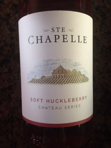 Ste Chapelle Chateau Series Soft Huckleberry NV Wine Info