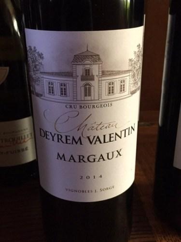 Chteau Deyrem Valentin Margaux 2014 Wine Info