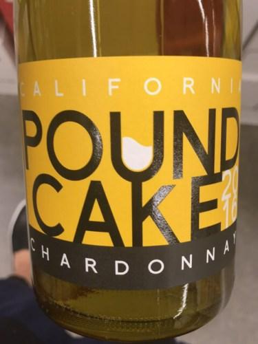 Pound Cake Chardonnay 2016  Wine Info
