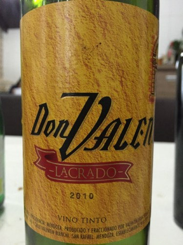 Don Valentin Lacrado Tinto 2010 Wine Info