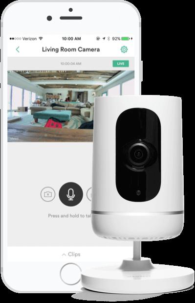 Indoor Security Camera  Vivint Ping  8557244415