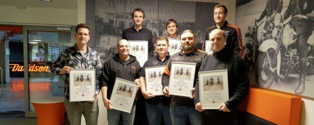Die ersten Harley-Nachfolger haben die erste Trainingseinheit absolviert.