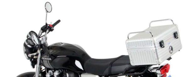 Hepco & Becker bietet Gepäcklösungen wie zum Beispiel dieses Topcase für die Honda CB 1100 EX / RS.