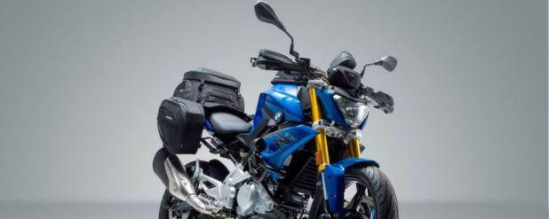 Das 34 PS-starke naked bike wird durch Zubehör von SW-Motech noch alltagstauglicher.