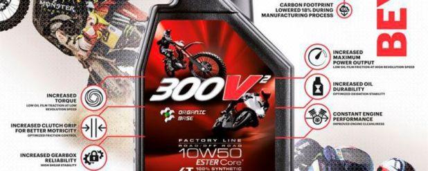 Vielseitig einsetzbar. Das 300V² 10W-50 soll im Offroad-Einsatz oder auf der Rennstrecke glänzen.