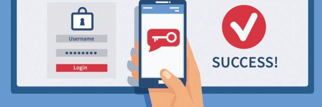 Eine Smartphone-App berechnet ein Token, das E-Mail-Nutzer als zusätzlichen Sicherheitsfaktor verwenden können.