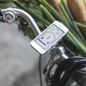 Das Prinzip FlyKly: Fahrradmotor steuern per Smartphone-App