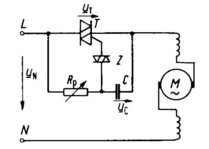 Universalmotor Schaltplan
