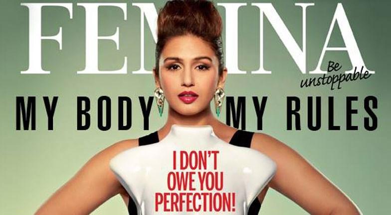 Huma Qureshi Feminas cover girl  Vogueit
