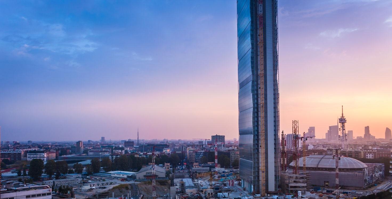 I grattacieli di Milano  Vogueit
