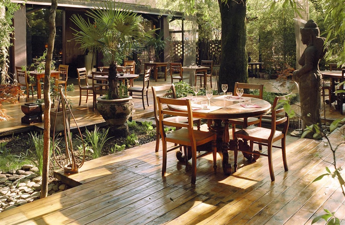 Al fresco dining in Milan 10 best restaurants  Vogueit