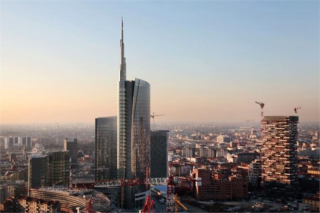 Milans New Architecture  Vogueit