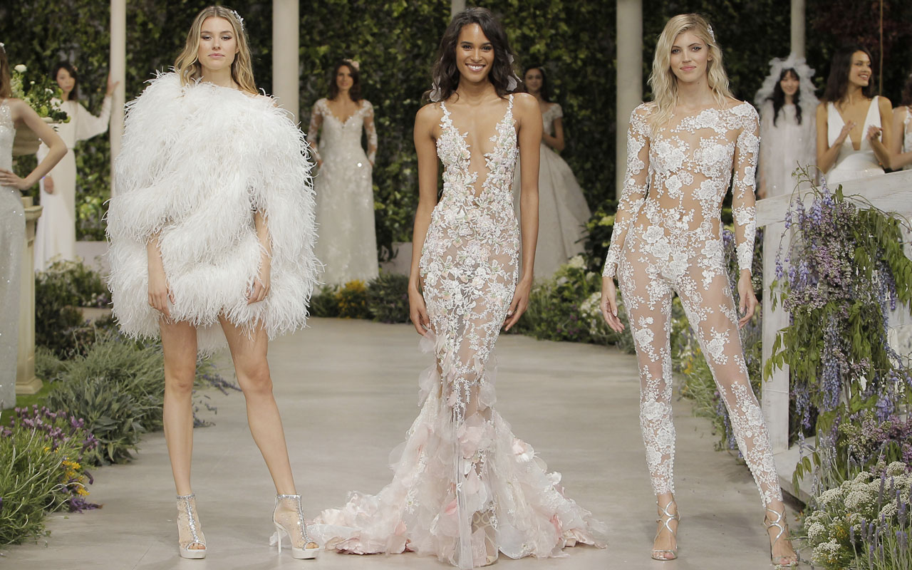 Wedding Gowns For 2019: See The Trends From Bridal Weeks