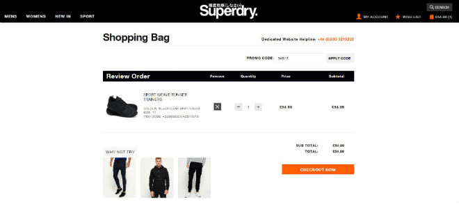 superdry promo codes discount codes