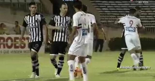 Botafogo-PB joga mal, perde por 2 a 0 para o River e segue sem pontuar no Nordestão