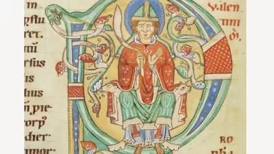 Voorstelling van Valentinus, 12de eeuw