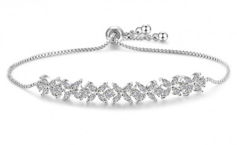 $19 for an Adjustable Swarovski® Elements Small Clover