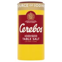 Cerebos iodised salt.