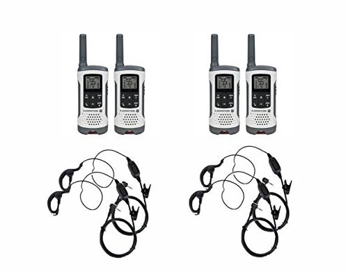 Motorola Talkabout T260 FRS/GMRS Two-Way Radio 4-Pack