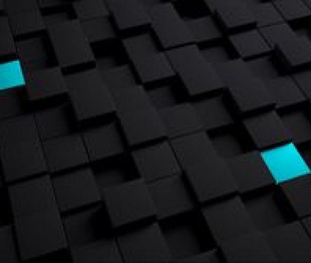 Preview Wallpaper Cubes Structure Black Blue