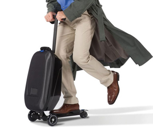 A Micro Luggage Skate Scooter