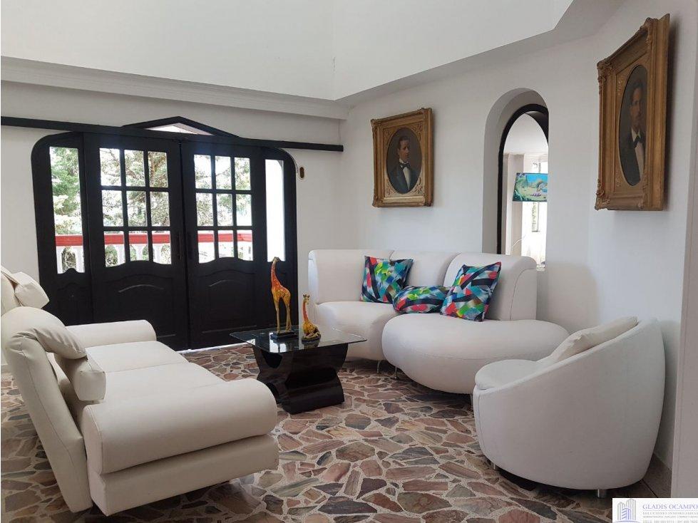 Casa campestre amoblada en venta Santa Rosa