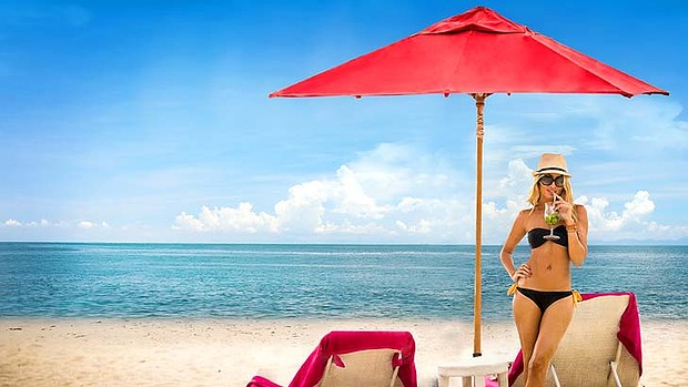 Xana beach club. The new Phuket is hip, laid-back and sultry.