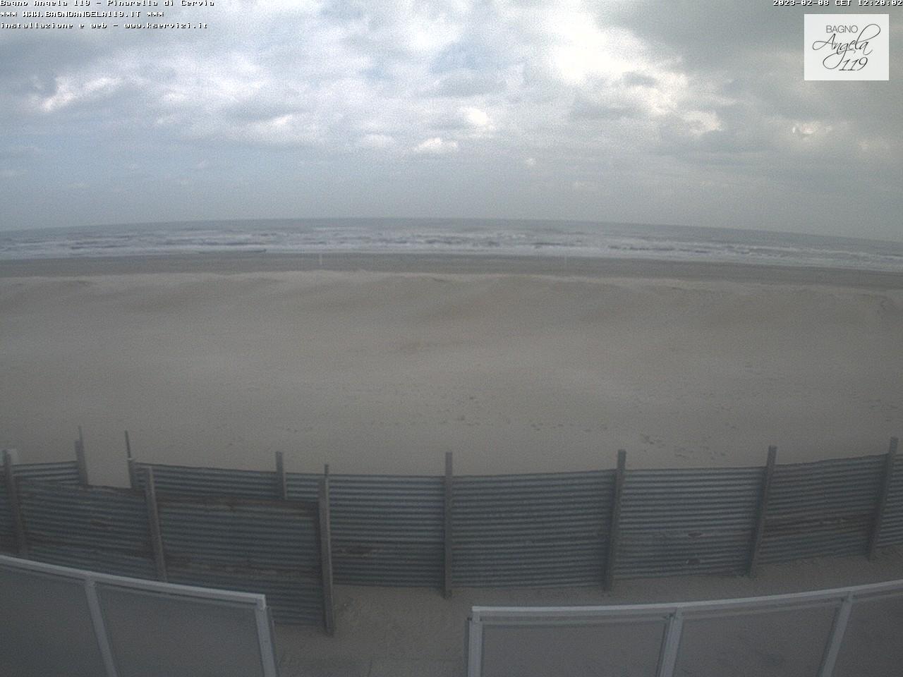Webcam Pinarella di Cervia Bagno Angela Beach