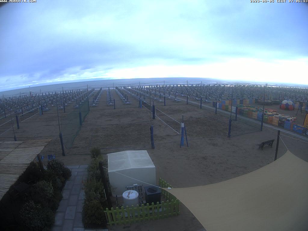 Webcam Cervia Beach Panorama