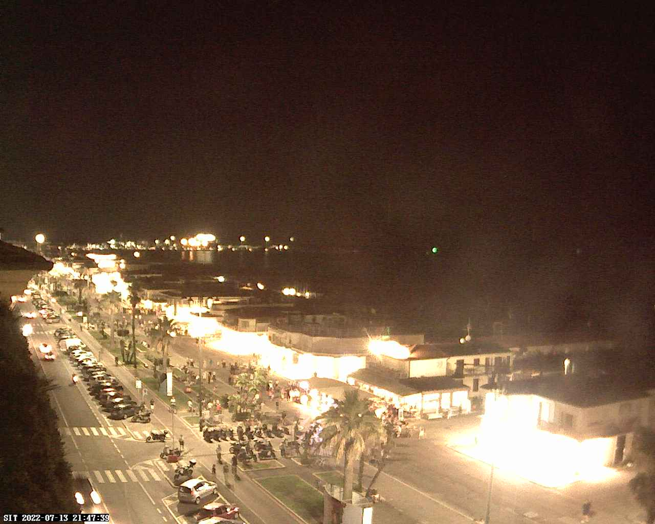 Webcam Viareggio Beach Panorama