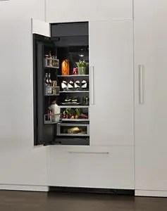 Armoire-Style Refrigerator Door Panel