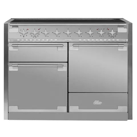 Elise 48 Induction Stainless Steel with Chrome trim