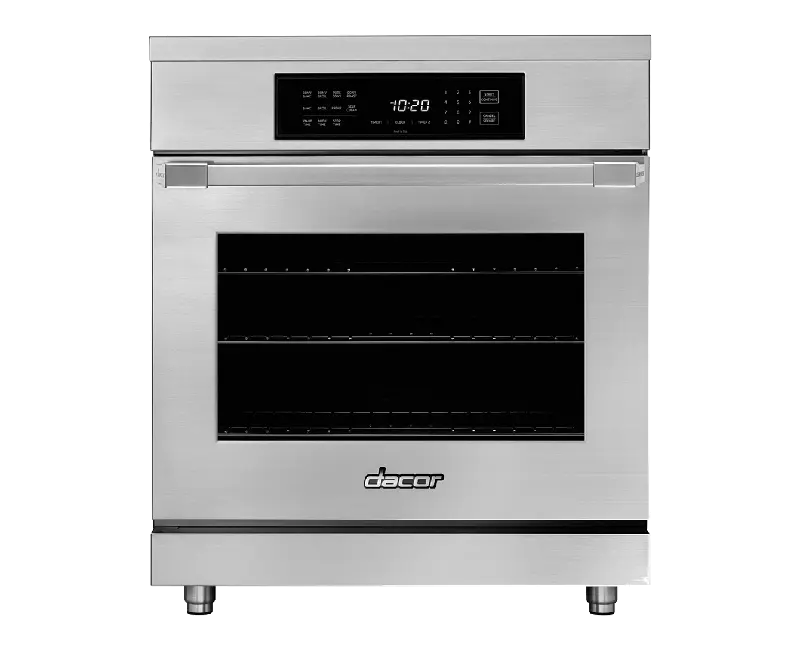 """30"""" Induction Pro Range, Silver Stainless Steel"""