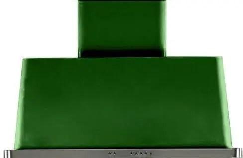 Majestic 40 Inch Emerald Green Wall Mount Convertible Range Hood