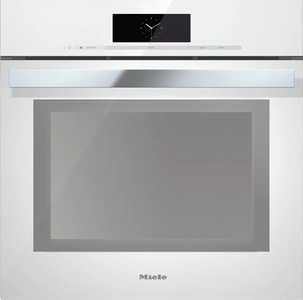 DGC 6865 AM - Steam oven with full-fledged oven function and XXL cavity - the  all-rounder with water (plumbed) connection for discerning cooks.