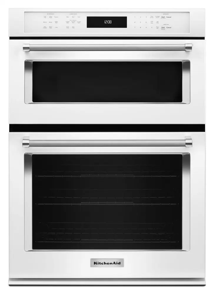 combination wall oven with