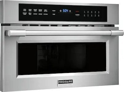Professional 30'' Built-In Convection Microwave Oven with Drop-Down Door