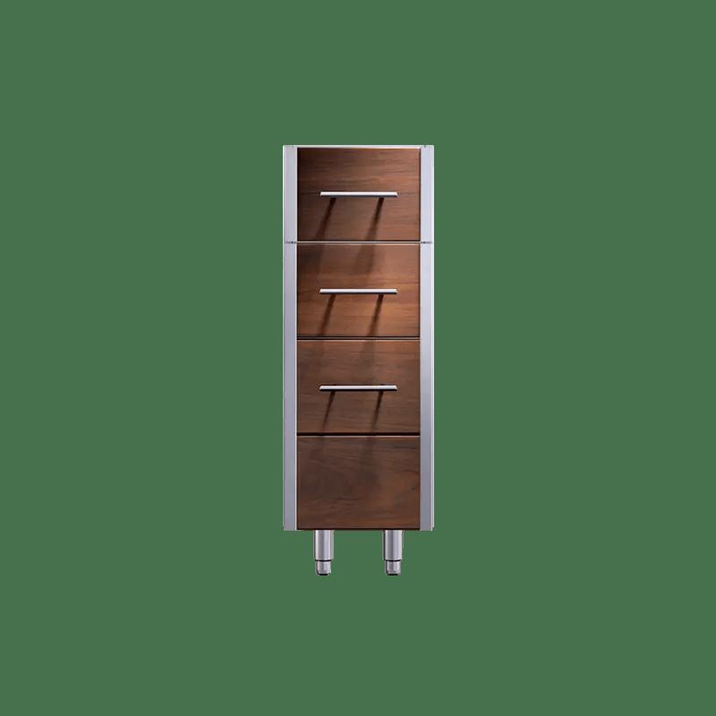 Arcadia 12-inch Three Drawer Storage Cabinet