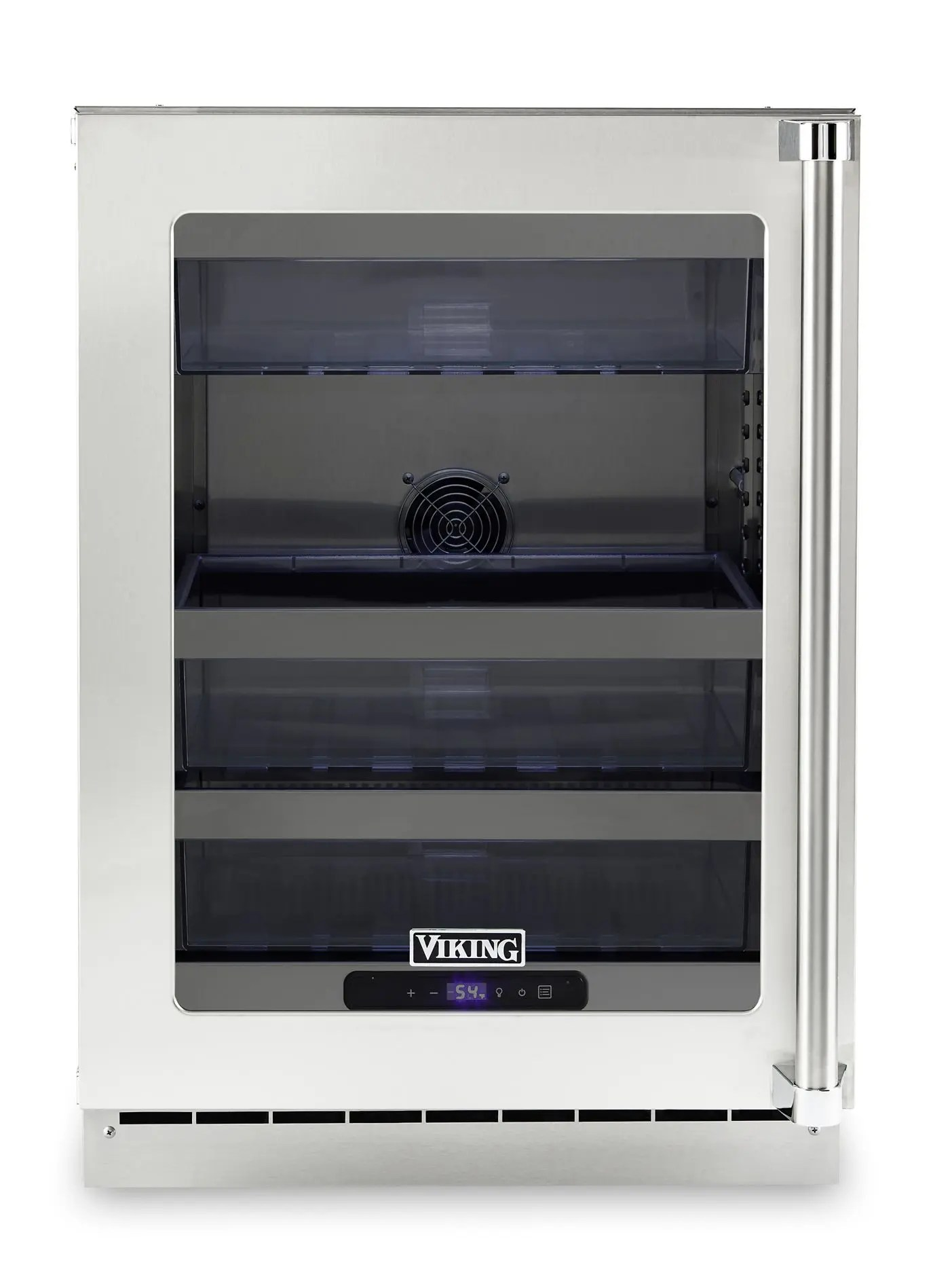 """24""""W. Stainless Steel Interior Undercounter Refrigeration - VURE"""