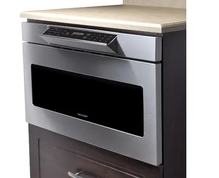 24 microwave drawer hidden control panel automatic drawer opening system