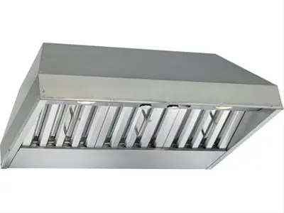 "40-3/8"" Stainless Steel Built-In Range Hood with 670 Max CFM Internal Blower"
