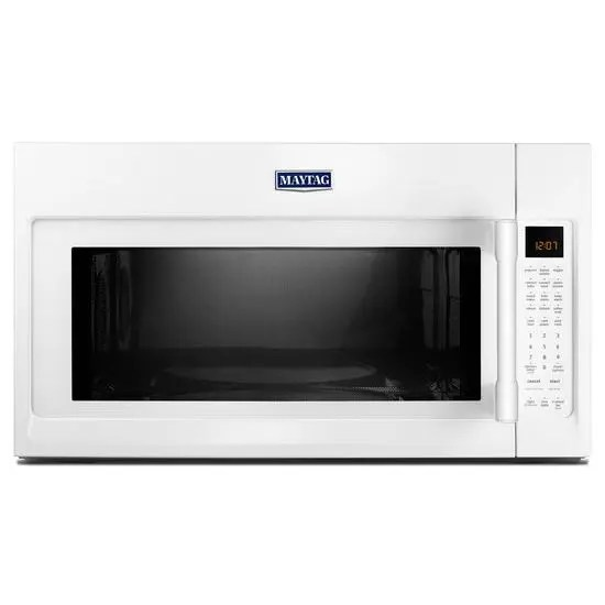 maytag over the range microwave with convection mode 1 9 cu ft white