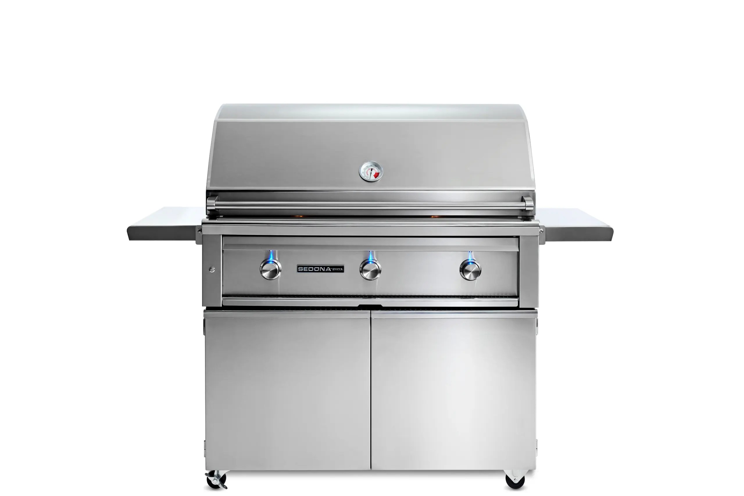 """42"""" Sedona by  Freestanding Grill with 3 Stainless Steel Burners, NG"""