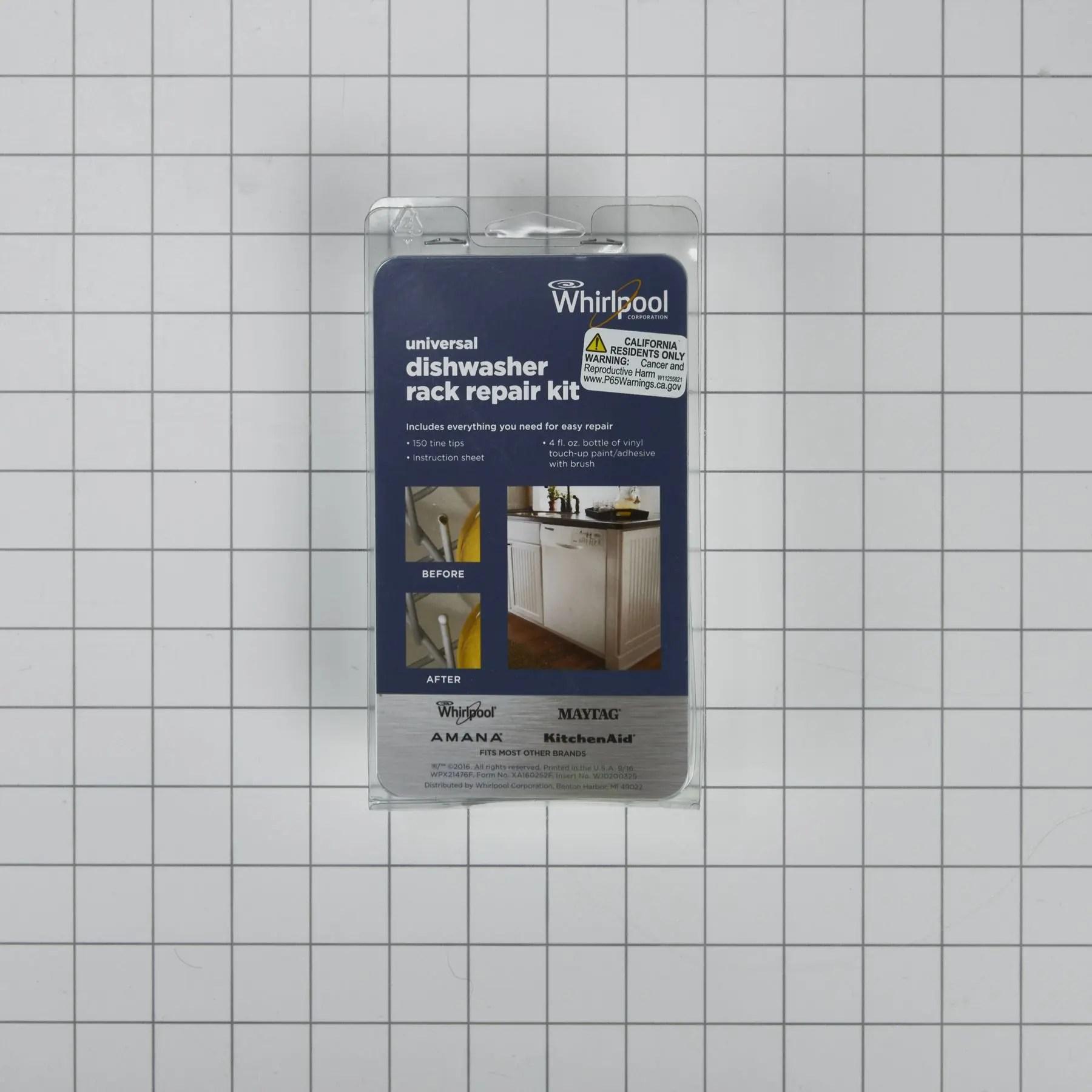 4396840rcamana dishwasher rack repair