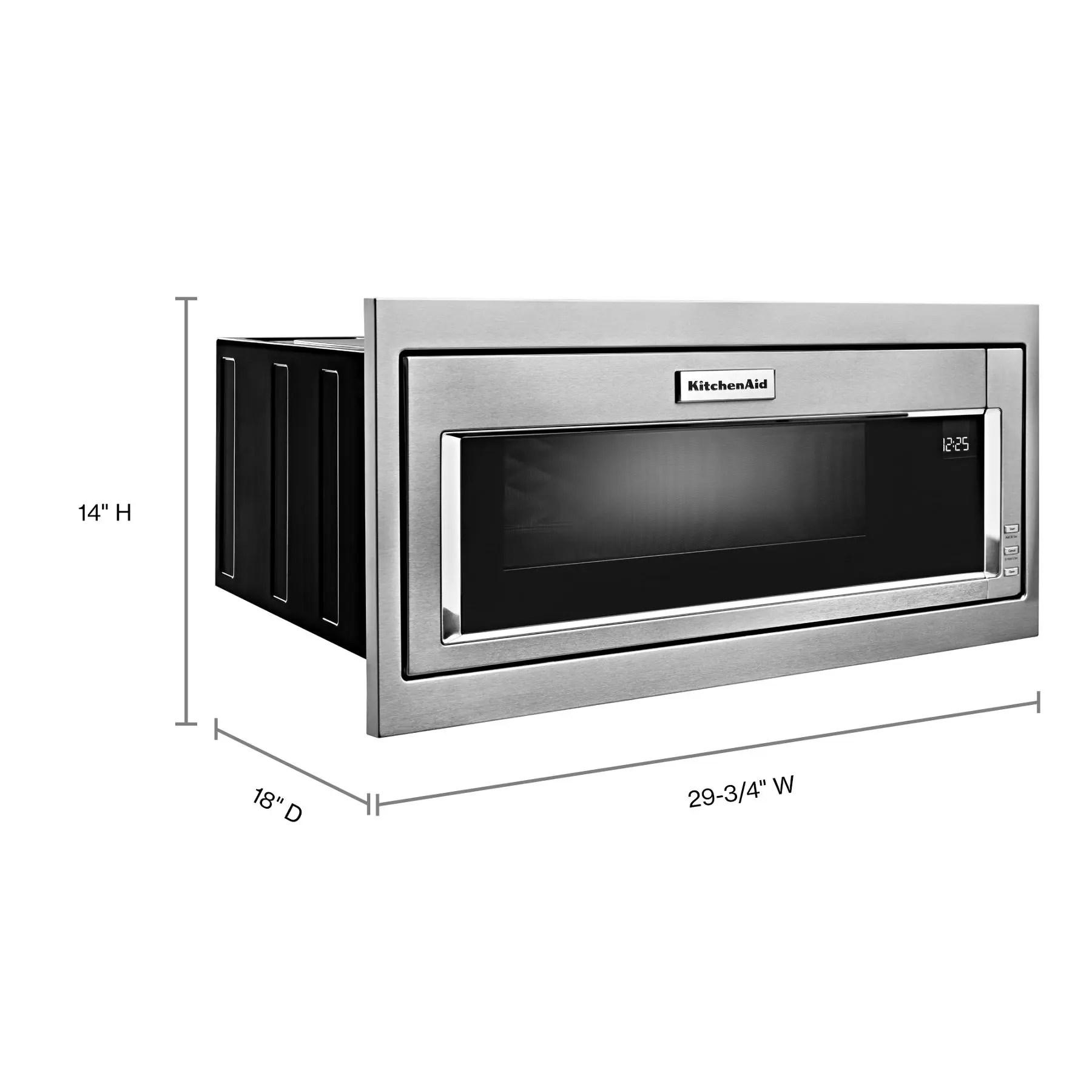 kmbt5011kss kitchenaid 1000 watt built