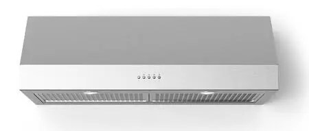 Lucca Under Cabinet Range Hood with 560 CFM LED Lighting in Stainless Steel