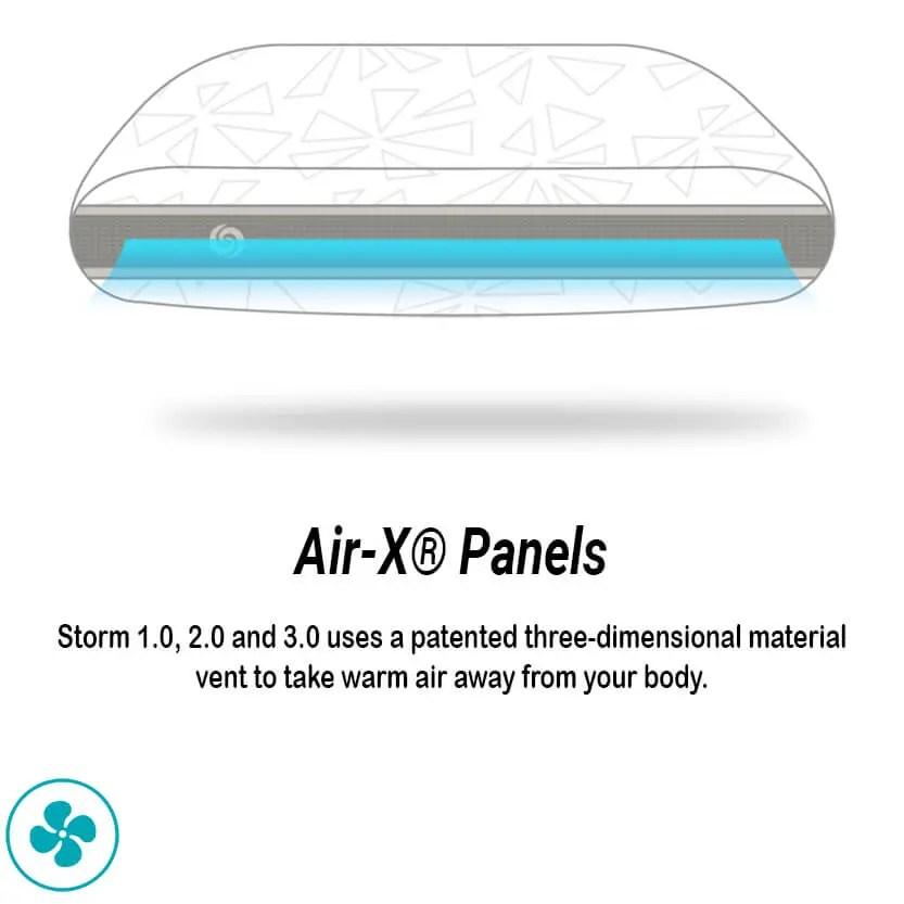 bedgear storm series 3 0 performance pillow
