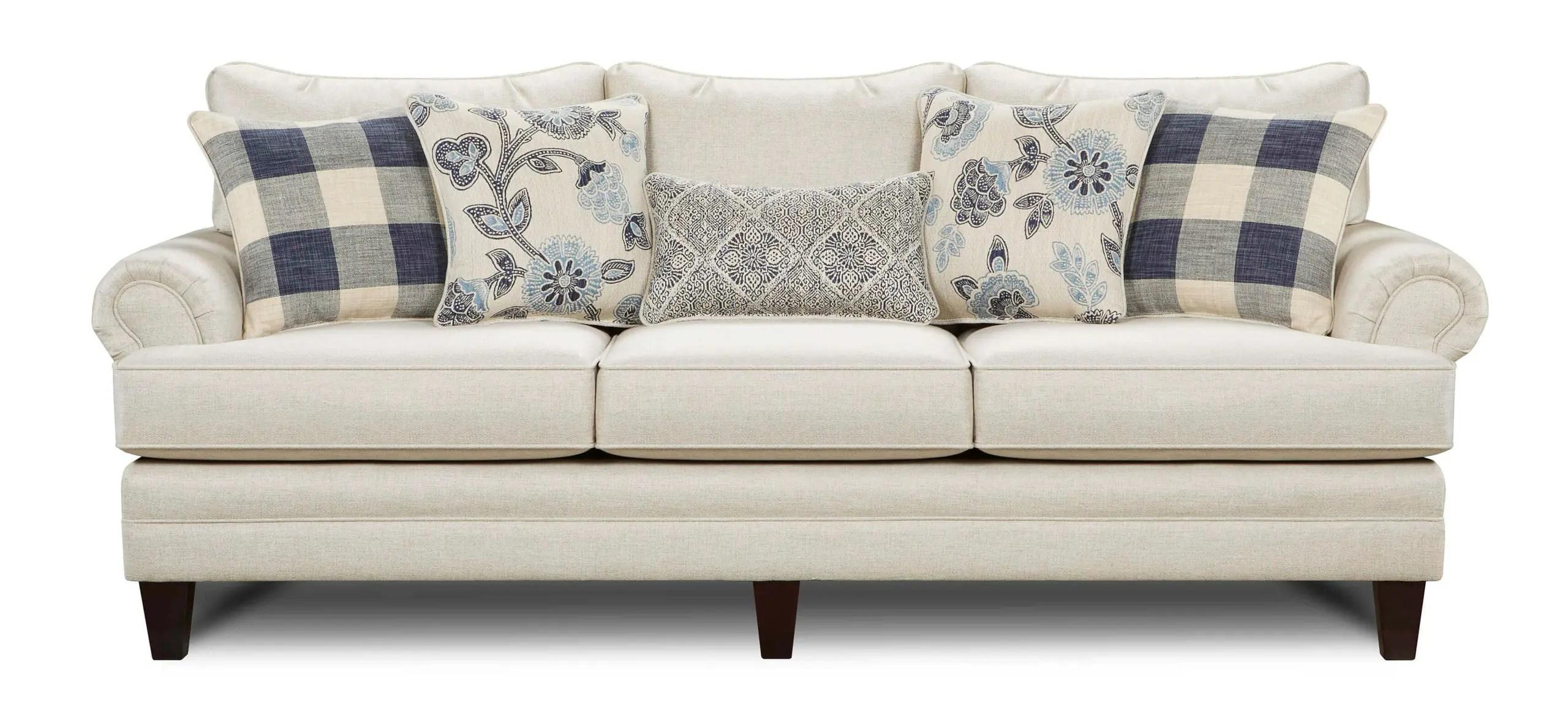 fusion 2810kp catalina linen sofa