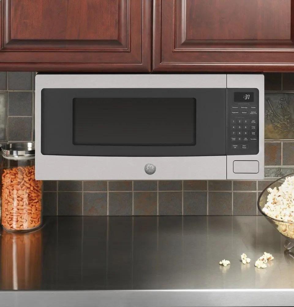 ge profile 1 1 cu ft countertop microwave oven