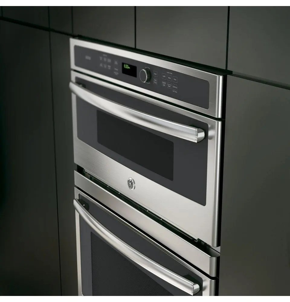combination double wall oven with